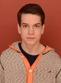 Liam James at the portrait session of