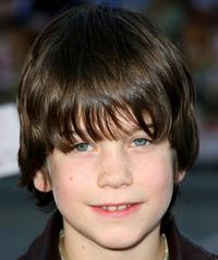 Liam James at the premiere of