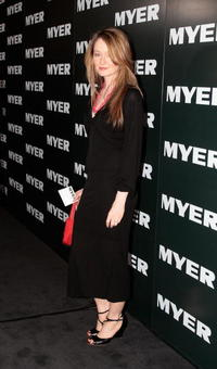 Miranda Otto at the Myer Spring/Summer Fashion Show 2006.