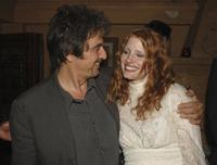 Al Pacino and Jessica Chastain at the party for Al Pacino stars in Oscar Wilde's