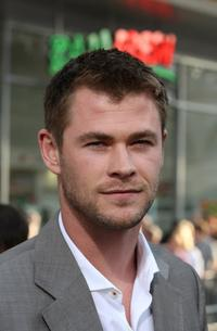 Chris Hemsworth at the premiere of
