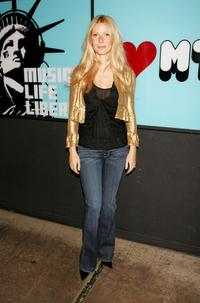 Gwyneth Paltrow at the MTV's Total Request Live.