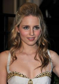 Dianna Agron at the 2010 Vanity Fair Oscar party.