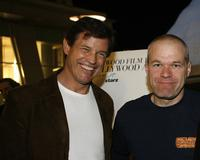 Michael Pare and Uwe Boll at the 2007 Hollywood Film Festival premiere of