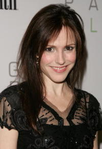 Mary-Louise Parker at the Men's Health & Best Life exhibition for photographer Nigel Parry in N.Y.