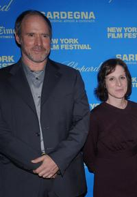 Will Patton and Kelly Reichardt at the premiere of