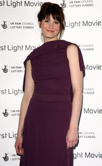 Gemma Arterton at the First Light Film Awards.