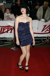 Gemma Arterton at the National Movie Awards.