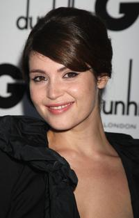 Gemma Arterton at the 2009 GQ Men of The Year Awards.