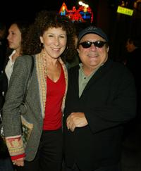 Rhea Perlman and Danny DeVito at the Los Angeles premiere of
