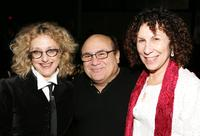Carol Kane, Danny Devito and Rhea Perlman at the after party of the premiere of