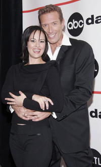 Sydney Penny and Walt Willey at the after party for the ABC Daytime Salutes Broadway Cares/Equity Fights AIDS Benefit.