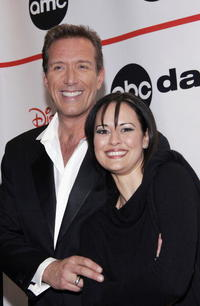 Walt Willey and Sydney Penny at the after party for the ABC Daytime Salutes Broadway Cares/Equity Fights AIDS Benefit.