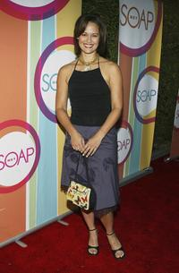 Sydney Penny at the Soapnet Fall Launch Party.