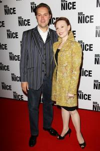 Christian McKay and Guest at the London premiere of