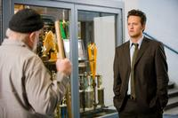 Brian Doyle-Murray as the Janitor and Matthew Perry as the adult Mike O'Donnell in