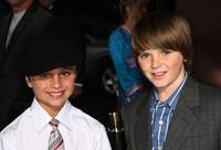 Gattlin Griffith and Devon Conti at the Los Angeles premiere of