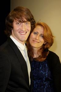 Samuel Roukin and Guest at the UK premiere of