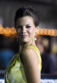 Haley Webb at the California premiere of