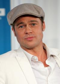 Brad Pitt at the screening of