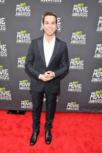 Skylar Astin at the 2013 MTV Movie Awards in California.