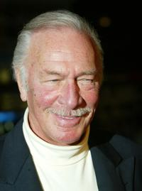 Christopher Plummer at the premiere of