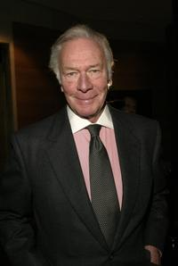 Christopher Plummer at the Roundabout Theatre Company's 2004 Spring Gala Celebration.