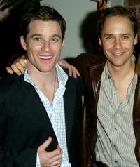 Mike Doyle and Chad Lowe at the opening night party of