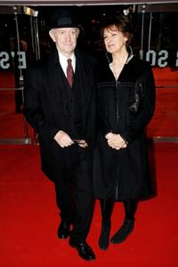 Jonathan Pryce and Guest at the European premiere of