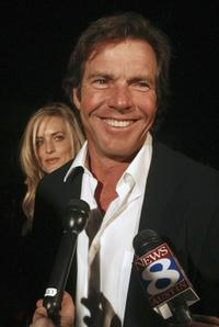 Dennis Quaid and Kimberly Buffington at the 2005 Texas Hall of Fame Awards.