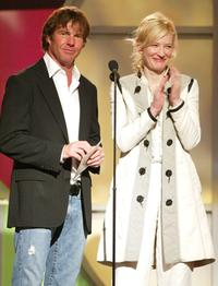 Dennis Quaid and Cate Blanchett at the 20th IFP Independent Spirit Awards.