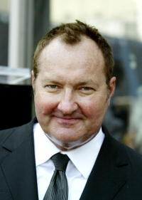 Randy Quaid at the star on the Hollywood Walk of Fame.