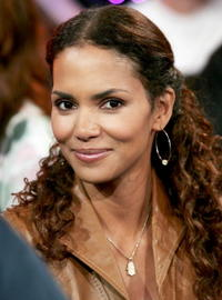 Halle Berry at MTV TRL.
