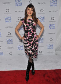 Natalie Gold at the New York screening of
