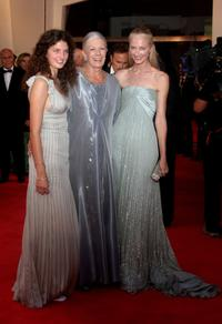 Daisy Bevan, Vanessa Redgrave and Joely Richardson at the premiere of