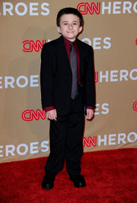Atticus Shaffer at the 2010 CNN Heroes: An All-Star Tribute.