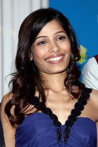 Freida Pinto at the 2008 Toronto International Film Festival.