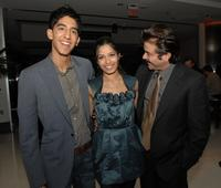 Dev Patel, Freida Pinto and Anil Kapoor at the screening of