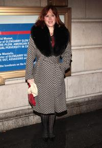 Molly Ringwald at the Broadway opening night of