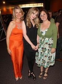 Portia Doubleday, Lori Nasso and Guest at the AFI Directing Workshop For Women Showcase.