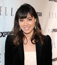 Aubrey Plaza at the ELLE And Express