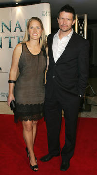 Matt Nable and Guest at the Australia premiere of