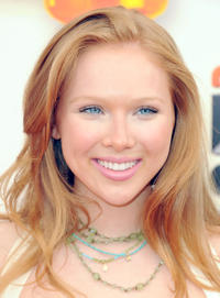 Molly Quinn at the Nickelodeon's 25th Annual Kids' Choice Awards in California.