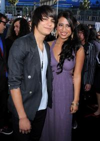 Kiowa Gordon and Guest at the premiere of