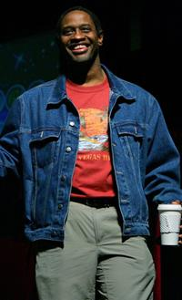 Tim Russ at the fifth Annual official Star Trek convention.