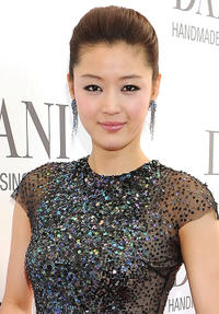 Gianna Jun at the cocktail reception of