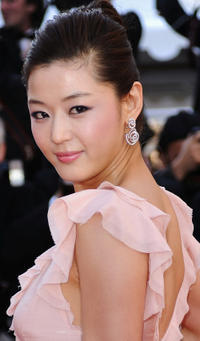 Gianna Jun at the premiere of