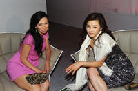 Producer Wendi Deng Murdoch and Gianna Jun at the Marche du Film China Night during the 64th Annual Cannes Film Festival.