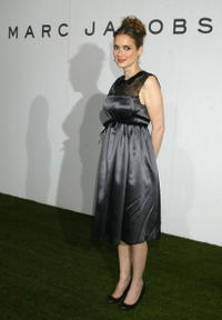 Winona Ryder at the block party in celebration of the opening of three Marc Jacobs stores on Melrose Place.