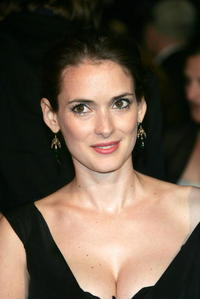 Winona Ryder at the Vanity Fair Oscar Party at Mortons in West Hollywood.